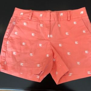 Talbots women's critter fish shorts Sz 6P